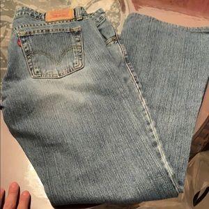 Levi's Jeans - Women's Levi's 9 L super low boot cut